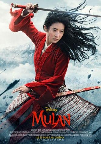 Affiche Mulan sortie le 25 mars 2020