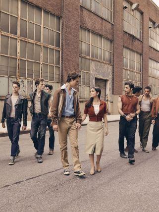Affiche provisoire West Side Story sortie le 16 décembre 2020