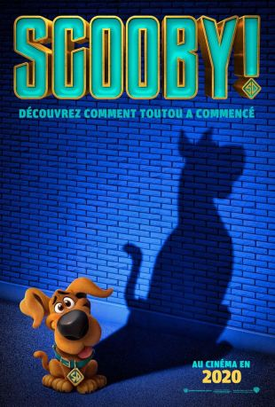 Affiche Scooby sortie 13 mai 2020