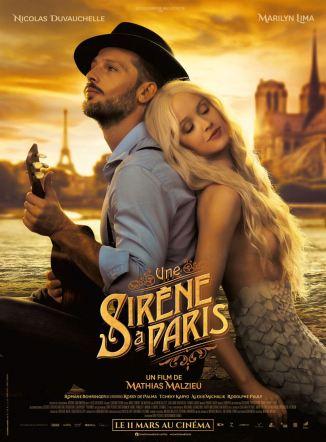 Affiche Une sirène à Paris sortie le 11 mars